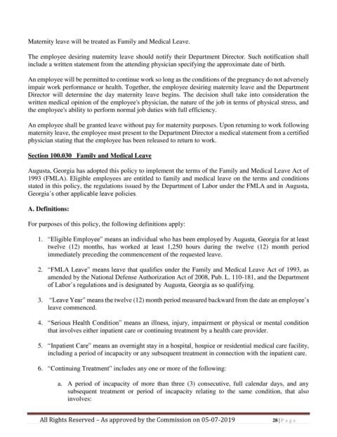 außergewöhnliche Farbpalette Turnschuhe Sportschuhe Page 28 - Personnel Policy and Procedures Manual