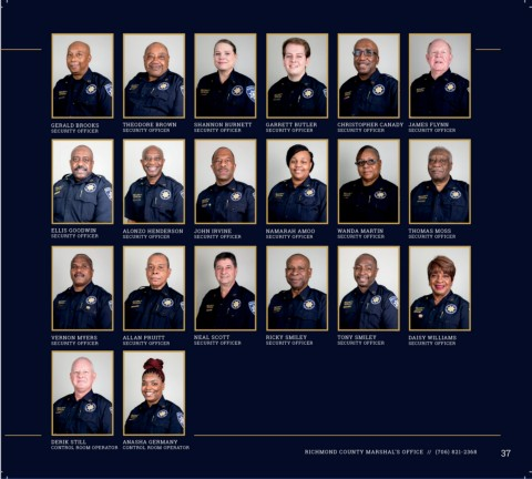 Page 39 - Marshal Annual Report