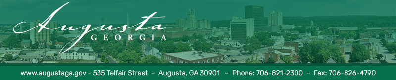 Augusta Website Header